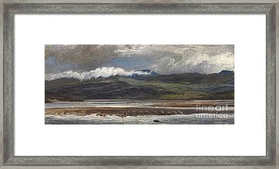 After Rain Framed Print by Henry Moore