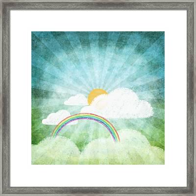 After Rainy Framed Print by Setsiri Silapasuwanchai