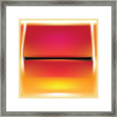 After Rothko Framed Print by Gary Grayson