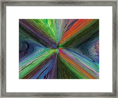 After The Rain 8 Framed Print by Tim Allen