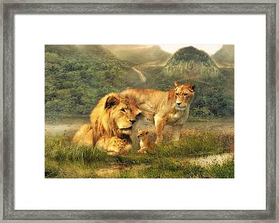 After The Storm Framed Print by Trudi Simmonds