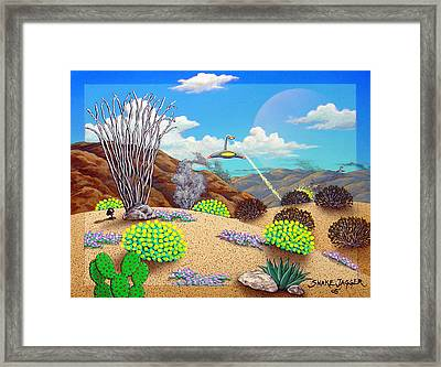 Afternoon Attack Framed Print by Snake Jagger