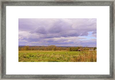 Afternoon In The Country Framed Print by Katina Cote