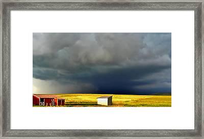 Afternoon Storm Framed Print by Ellen Heaverlo