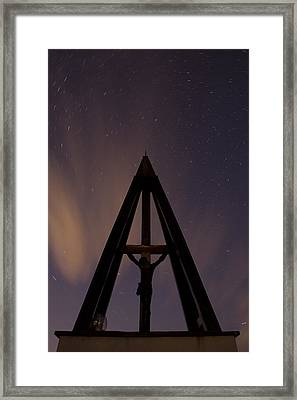 Against The Stars Framed Print by Ian Middleton