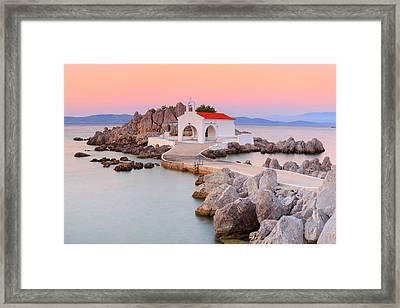 Agios Isidoros Framed Print by Emmanuel Panagiotakis