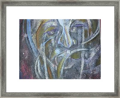 Agony On The Road Framed Print by Andrius Kilgour