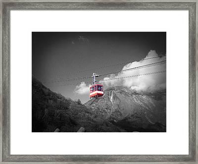 Air Trolley Framed Print by Naxart Studio