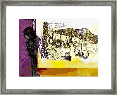 Airfoil Test Framed Print by James Thomas