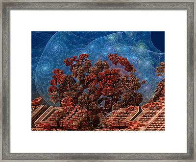 Airlock Malfunction Framed Print by Pam Blackstone
