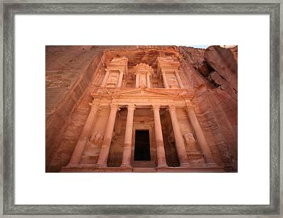 Al Khazneh (the Treasury), Petra, Jordan Framed Print by Joe & Clair Carnegie / Libyan Soup