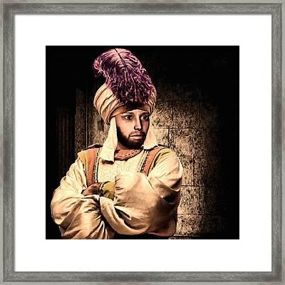 Aladdin Framed Print by Lourry Legarde