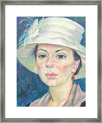 Alain Litwin Framed Print by Leonid Petrushin