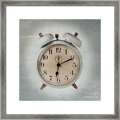 Alarm Clock Framed Print by Bernard Jaubert