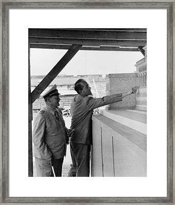 Albert Speer 1905-1981, Adolf Hitlers Framed Print by Everett