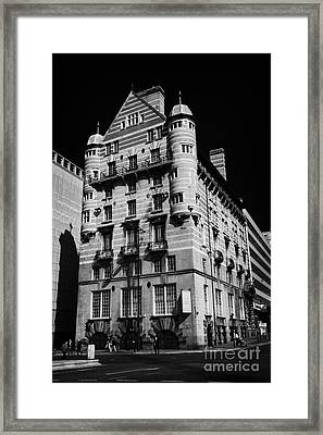 Albion House James Street Liverpool Former Offices Of The White Star Line  Framed Print by Joe Fox
