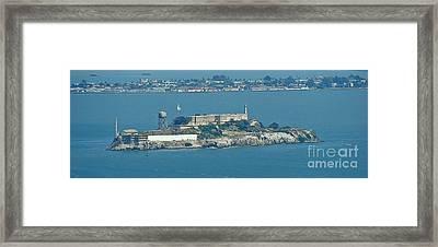 Alcatraz In April Framed Print by Suze Taylor