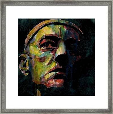 Alec Guinness Framed Print by Paul Lovering