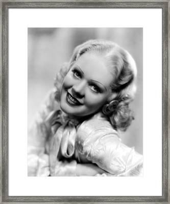 Alice Faye, Ca. Late 1930s Framed Print by Everett