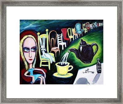 Alice's Choice Framed Print by Leanne Wilkes