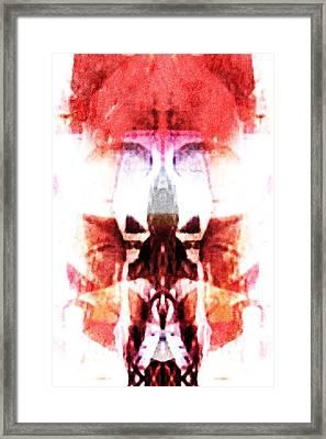 Alien King Framed Print by Andrea Barbieri