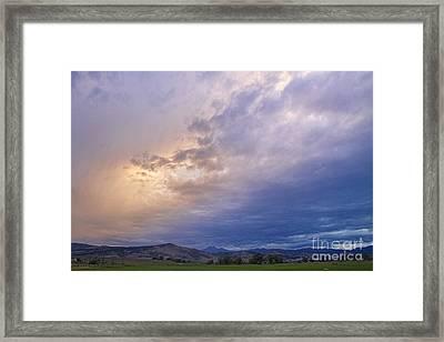 Alien Sky Framed Print by James BO  Insogna