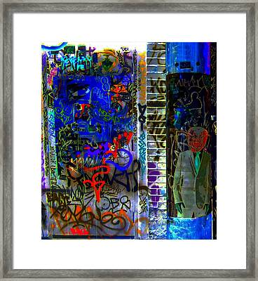 Alien Suit 3 Framed Print by Randall Weidner