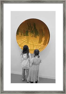 Aliens Framed Print by Nina Mirhabibi