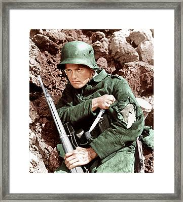 All Quiet On The Western Front, Lew Framed Print by Everett