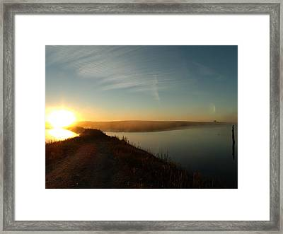 All Roads Lead Home Framed Print by Brian  Maloney