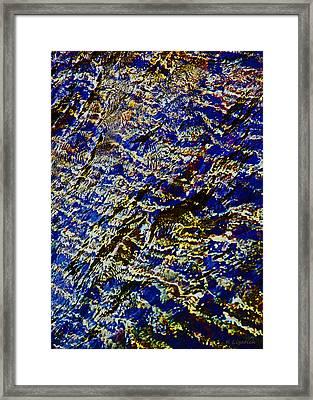 All That Glitters Framed Print by Kerri Ligatich