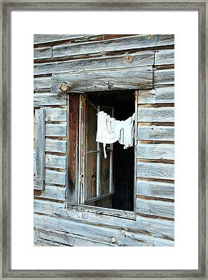 All That Remains Framed Print by Drusilla Montemayor