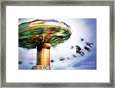 All The Fun Of The Fair Framed Print by Catherine MacBride