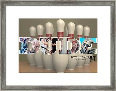 All The Way Framed Print by Tom Roderick