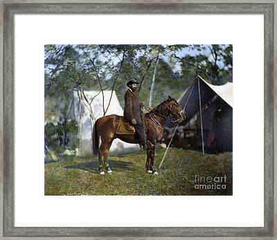 Allan Pinkerton, 1862 Framed Print by Granger