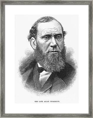 Allan Pinkerton Framed Print by Granger