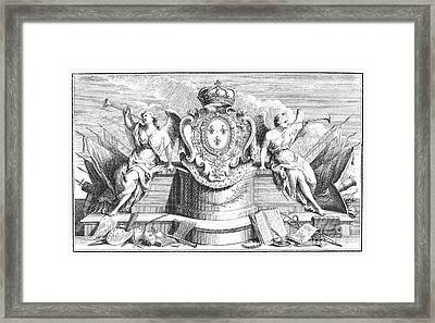 Allegory: Fame Framed Print by Granger