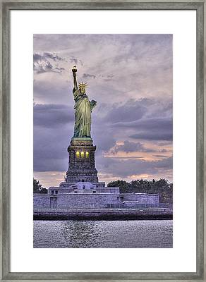 Allegory Of Liberty Framed Print by William Fields