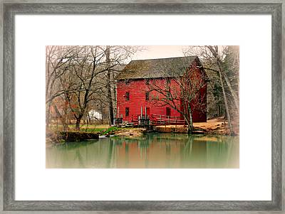 Alley Mill 4 Framed Print by Marty Koch