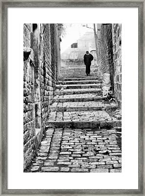 Alley Framed Print by Okan YILMAZ