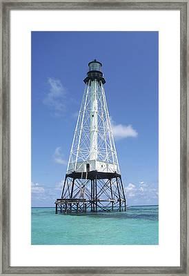 Alligator Reef Lighthouse Framed Print by Kevin Brant