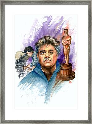 Almodovar Framed Print by Ken Meyer jr