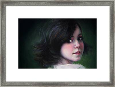 Almost Ready-detail Framed Print by Talya Johnson
