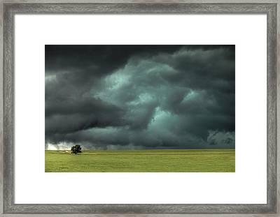 Alone Framed Print by Thomas Zimmerman