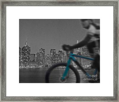 Along The River Framed Print by Linda Seacord