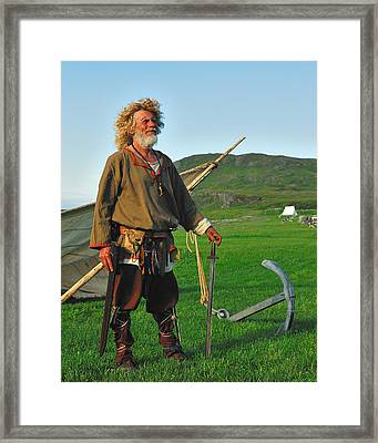 Along The Viking Trail Framed Print by Tony Beck