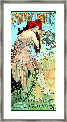 Alphonse Expo Framed Print by Lyle Brown