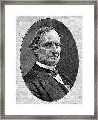 Alphonso Taft (1810-1891) Framed Print by Granger