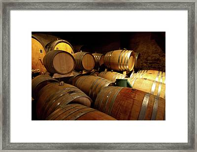 Alsace Oak Framed Print by Bill Lindsay