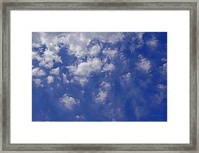 Alto Cumulus With Ice Framed Print by Mick Anderson